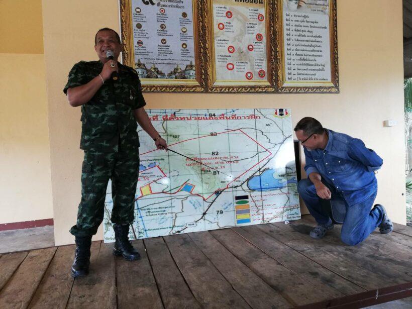 ทหาร ชาวบ้านเคลียร์ใจ ปมที่ดินสร้างสนามซ้อมรบ | The Thaiger
