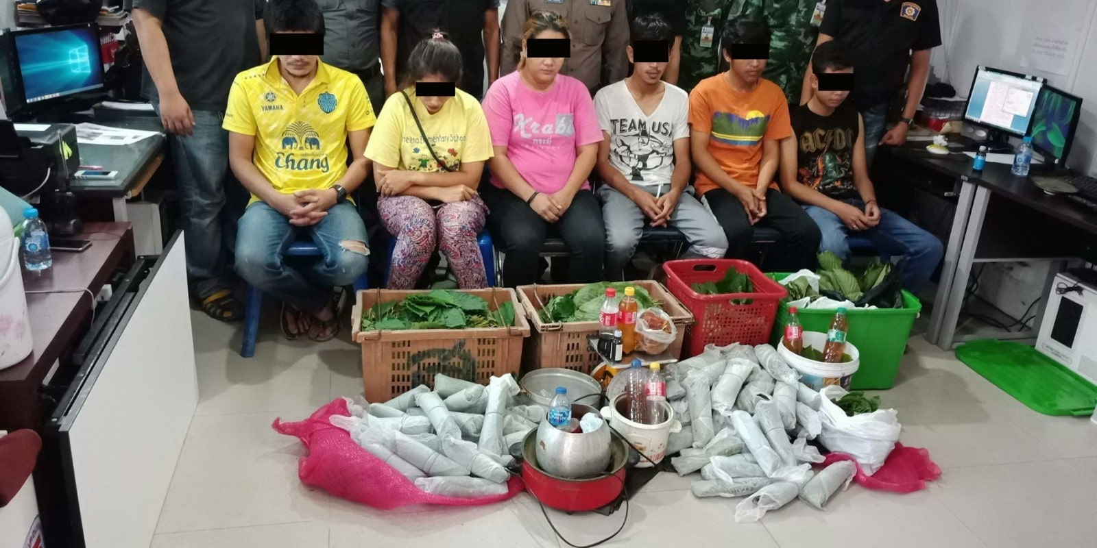 Six arrested in Phuket drug shakekdown | The Thaiger