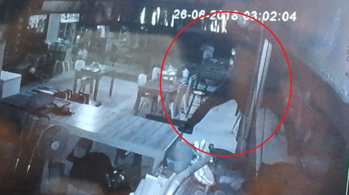 Police hunt for Krabi TV thief | The Thaiger