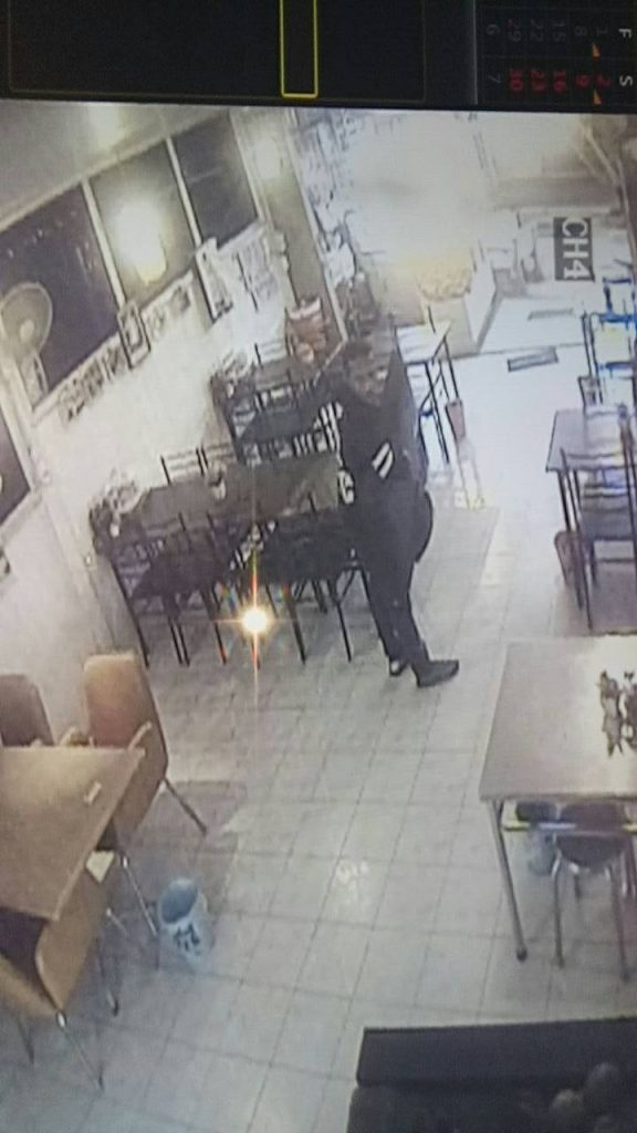 Police hunting for thief who snatched a restaurant TV | News by The Thaiger