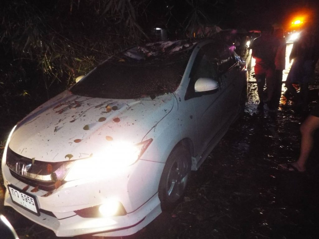 Two escape serious injuries in Phuket storm | News by Thaiger