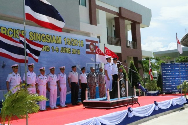 Pattaya: 19th SingSiam war games in the Gulf of Thailand | The Thaiger