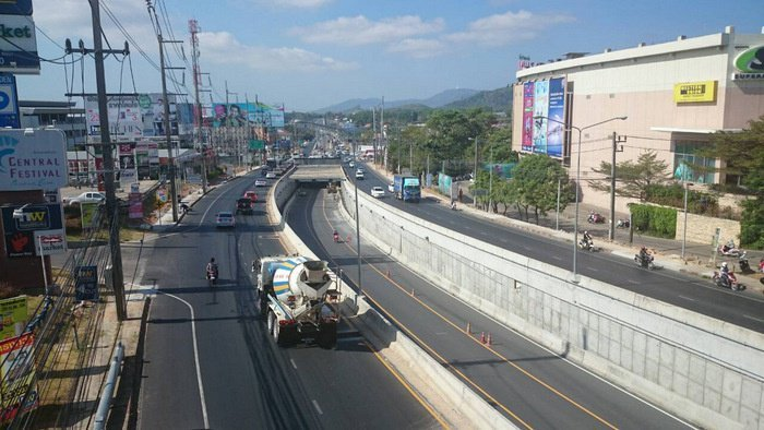 Darasamuth underpass closed today for maintenance | The Thaiger
