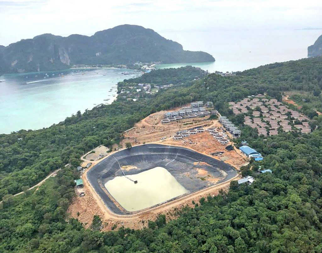 Authorities inspect under-construction hotels in Koh Phi Phi | News by The Thaiger