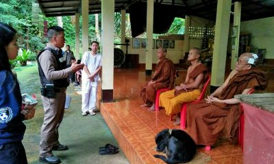 Chiang Mai: Axe-wielding monk attacks abbot and nun at temple | The Thaiger