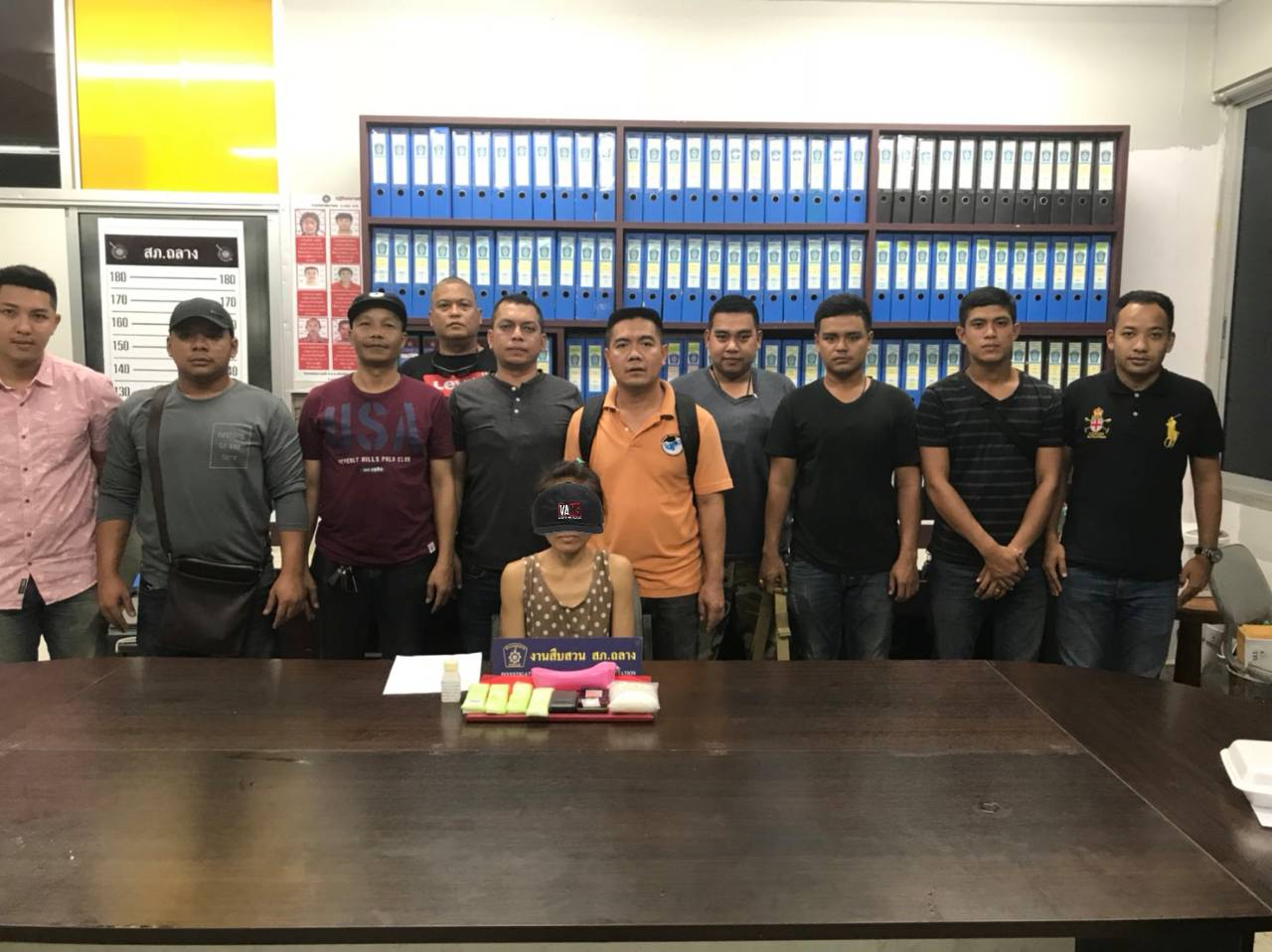 Laotian woman arrested with drugs   The Thaiger