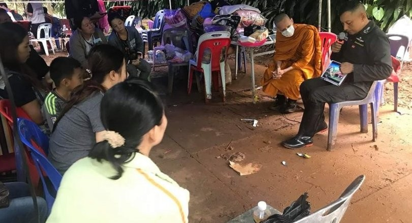 Chiang Rai: Border patrol policemen searching cave shafts today | News by The Thaiger