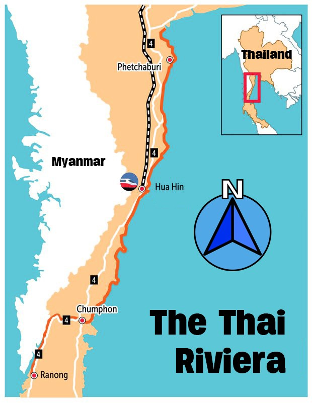 Government fast-tracking Riviera Project to promote southern coastal provinces   News by The Thaiger