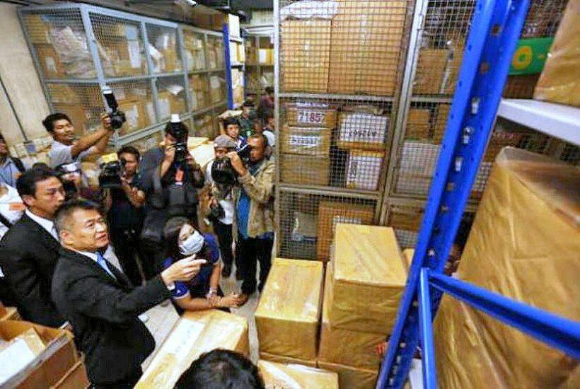 Bangkok: 13 billion baht of drugs - up in smoke   News by Thaiger