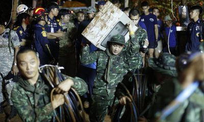 Chiang Rai: UK cave-diving experts get to work. US providing rescue equipment. | The Thaiger