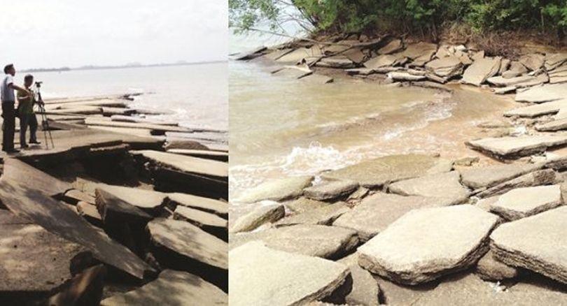 Krabi: Erosion threatens fossils on Andaman coast | News by The Thaiger