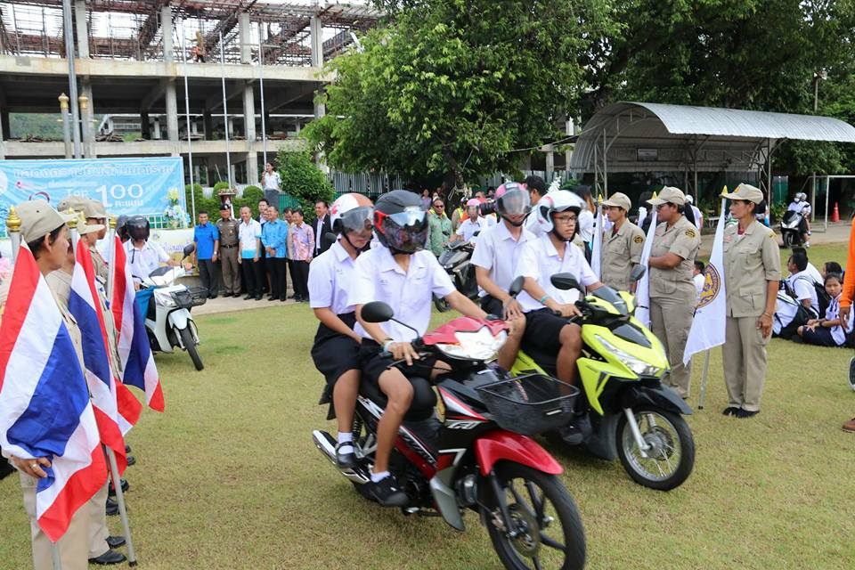 Road accident prevention project aimed at schools – Phuket | The Thaiger