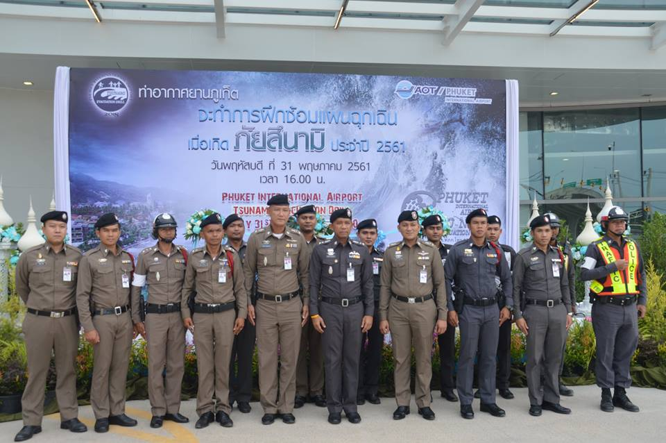 Phuket Airport holds annual tsunami evacuation drill | News by The Thaiger