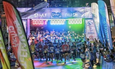 Over thousand front the start line in the Samui Half Marathon | The Thaiger