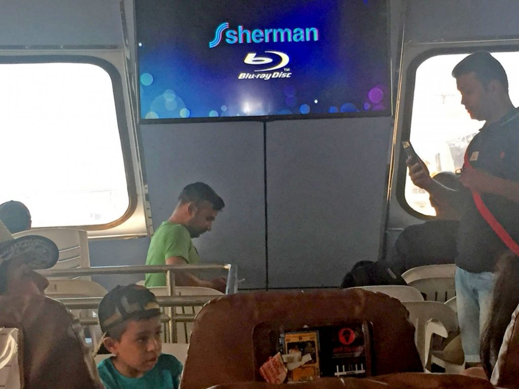 Cheap plastic chairs being used on Krabi-Phi Phi ferry | News by The Thaiger
