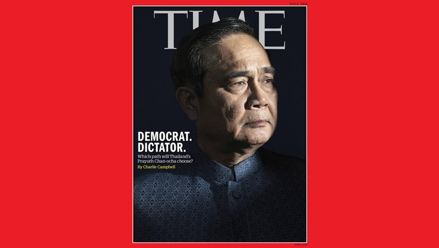 Thai PM features on front of Time magazine's Asia edition | The Thaiger