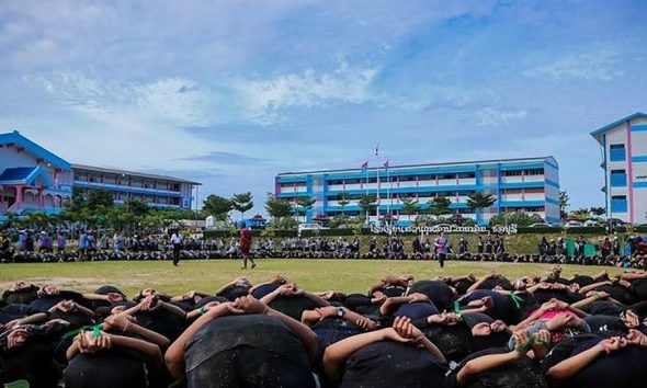 Chonburi school hazing ceremony – Grounds for concern | The Thaiger