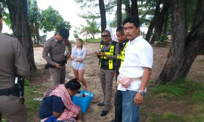 Man caught by Karon lifeguard stealing from tourist | The Thaiger