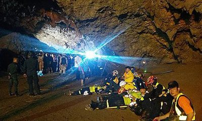 Chiang Rai: Search continues for missing teenagers in flooded cave | The Thaiger