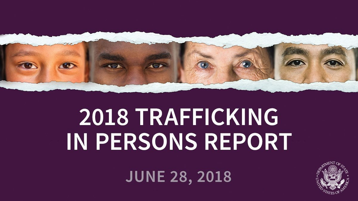 Thailand upgraded in Trafficking in Persons report | The Thaiger