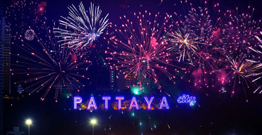 Pattaya firework party lights up the weekend | VIDEO | Thaiger