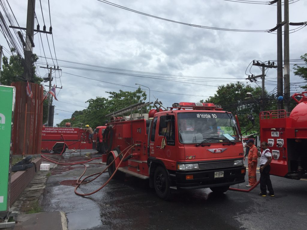 Dara Hotel control room fire - Phuket   News by Thaiger