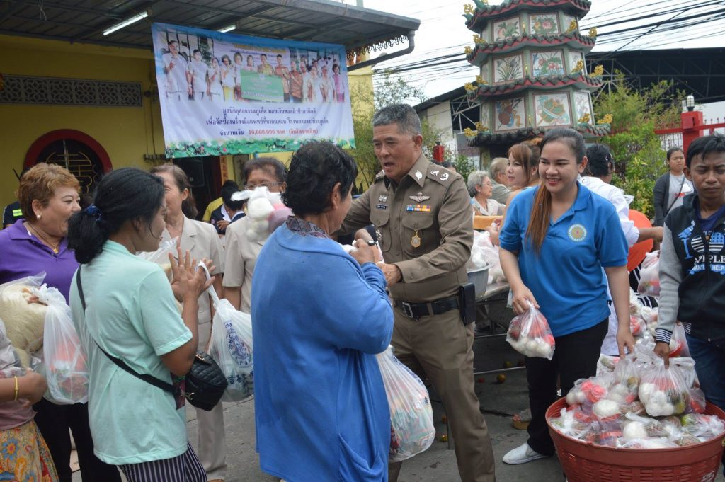 Phuket rescue foundation donates food to the poor - Te Krajard merit-making ceremony   News by Thaiger