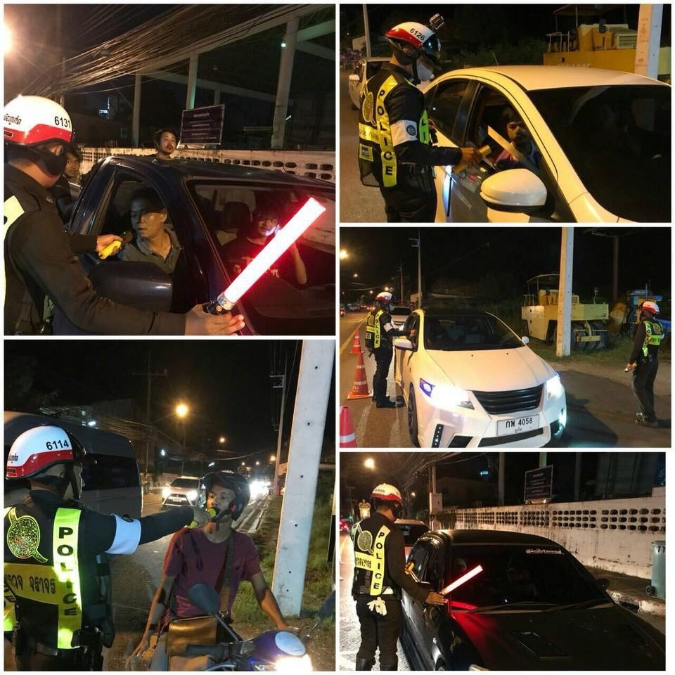 b74f314aa6 Nine arrested in Phuket drunk-driving campaign
