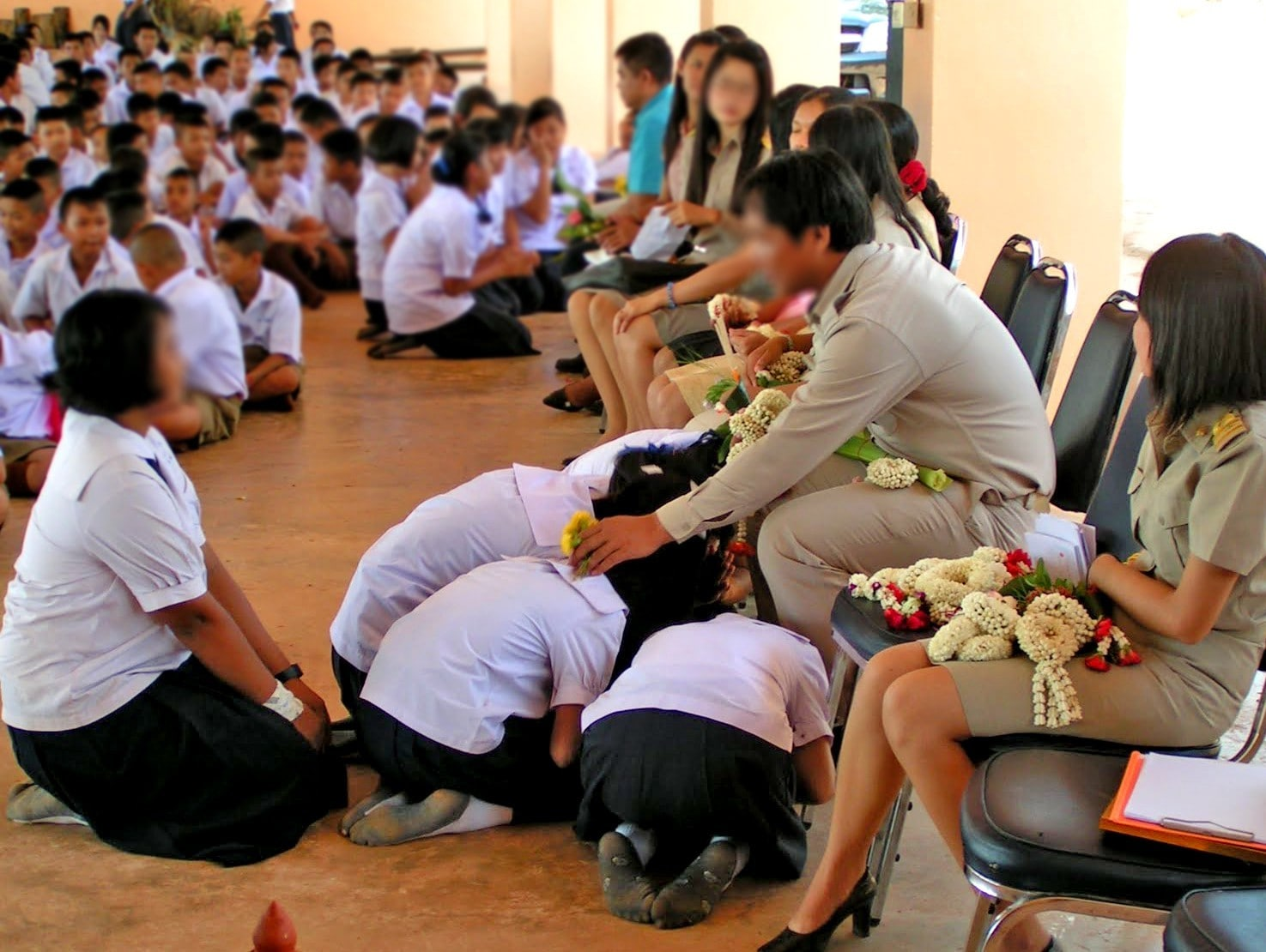Wai Khru - setting a bad example for the future  Thailand's demand