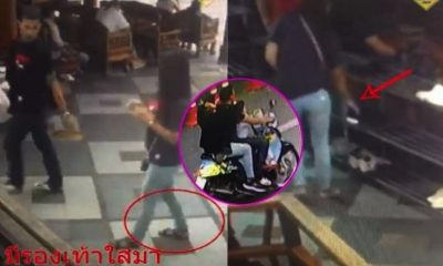 Chiang Mai: Thai shoe thiefs caught red-handed at Wat Doi Suthep | The Thaiger