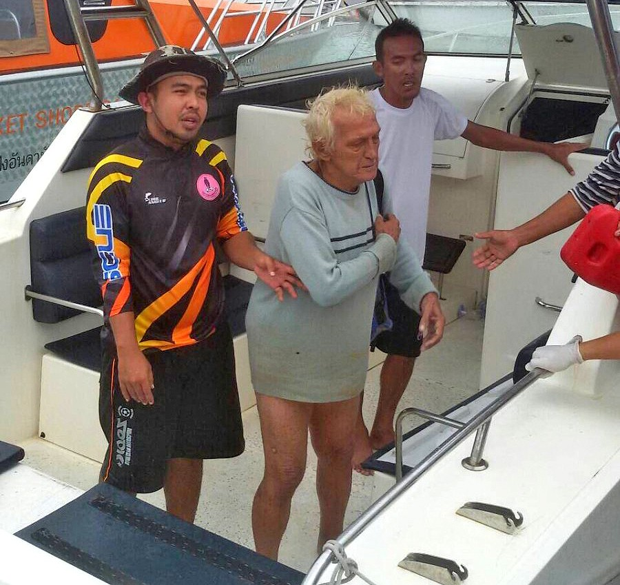 French expat rescued off Phuket, jet-ski and parasail ban remains in force today | The Thaiger