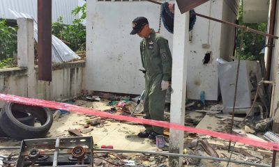 Chiang Mai: Gas tank explosion kills man, destroys half the house | The Thaiger