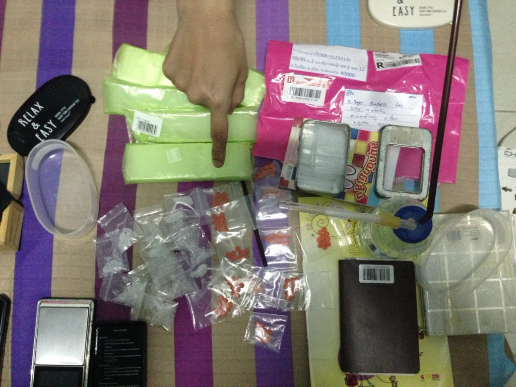 Phuket Town woman arrested with drugs | News by Thaiger