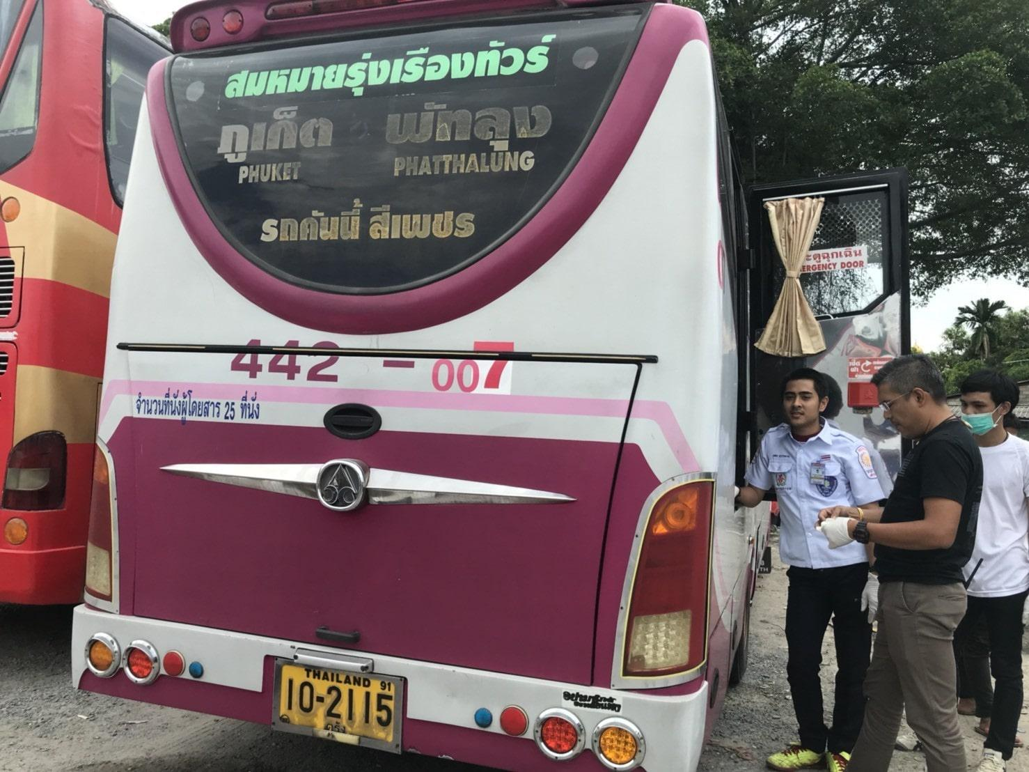 Driver found dead at the back of his bus | The Thaiger