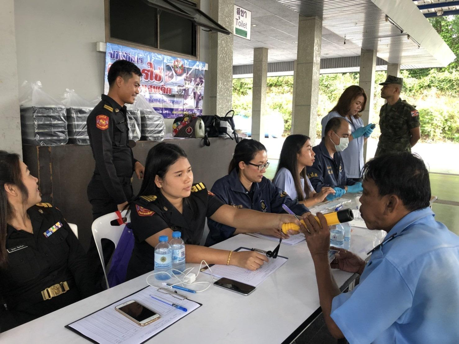 Two motorbike taxi drivers arrested in public transport drug crackdown | The Thaiger