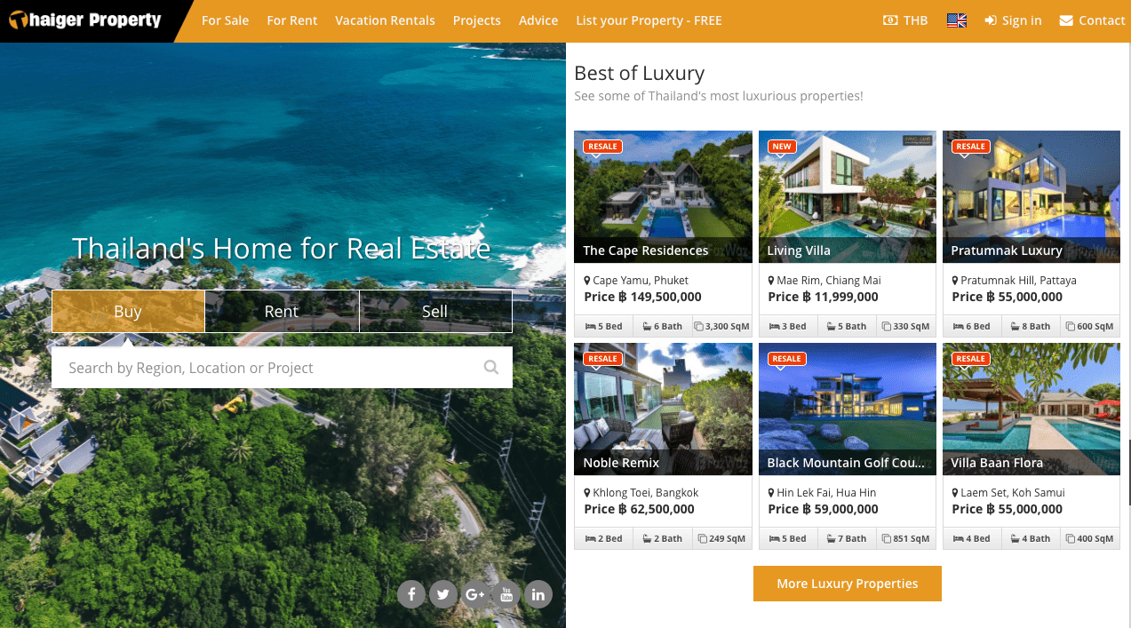 Thailand's largest property portal   The Thaiger