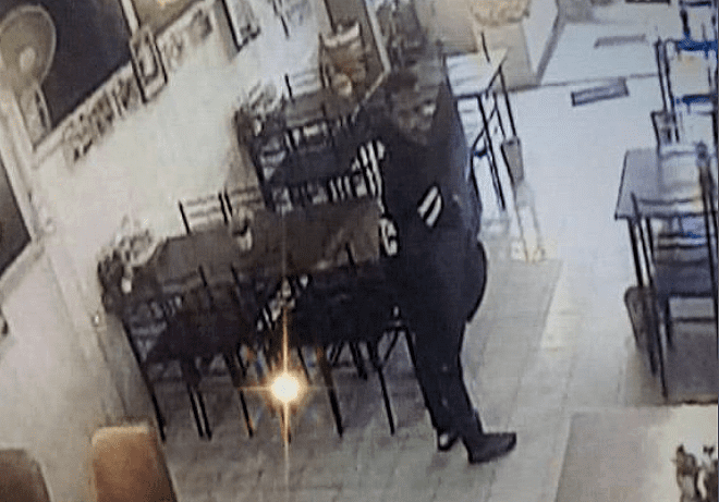 Police hunting for thief who snatched a restaurant TV | The Thaiger