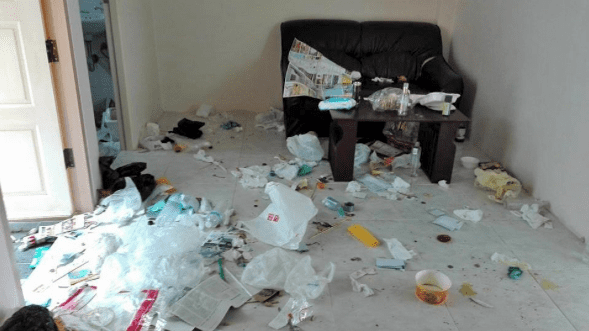 Chinese couple trash Phuket apartment | The Thaiger