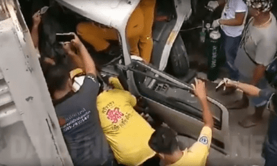 Intrusive news reporter challenged at accident scene | The Thaiger
