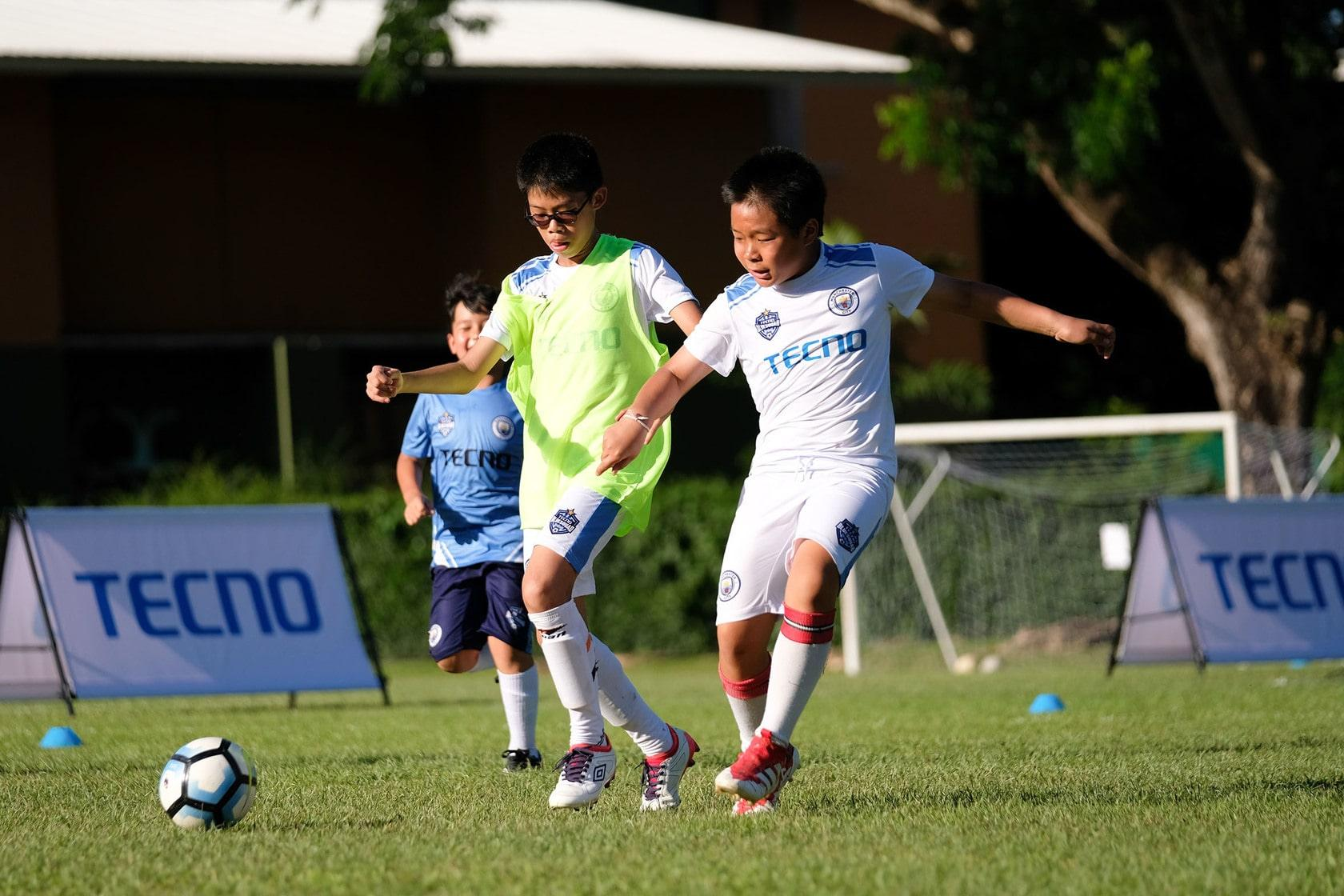 TECNO Mobile and Manchester City Football Club developing Thai youth