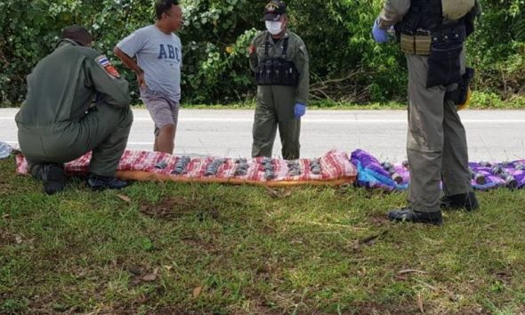 Narathiwat: 40 pipe bombs seized at a checkpoint on busy highway | The Thaiger
