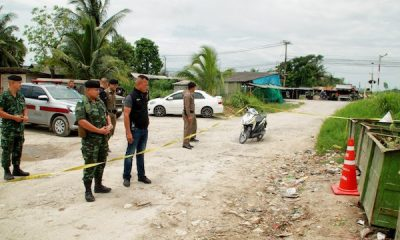 Hua Hin: Bomb squad called in to check suspected grenade | The Thaiger