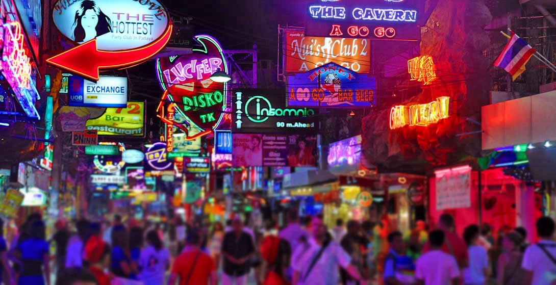 Pattaya's Walking Street gets a 'family' make-over. | The Thaiger