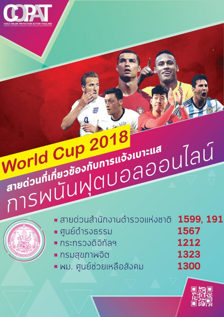 Officials keeping an eye on illegal World Cup football gambling   News by Thaiger