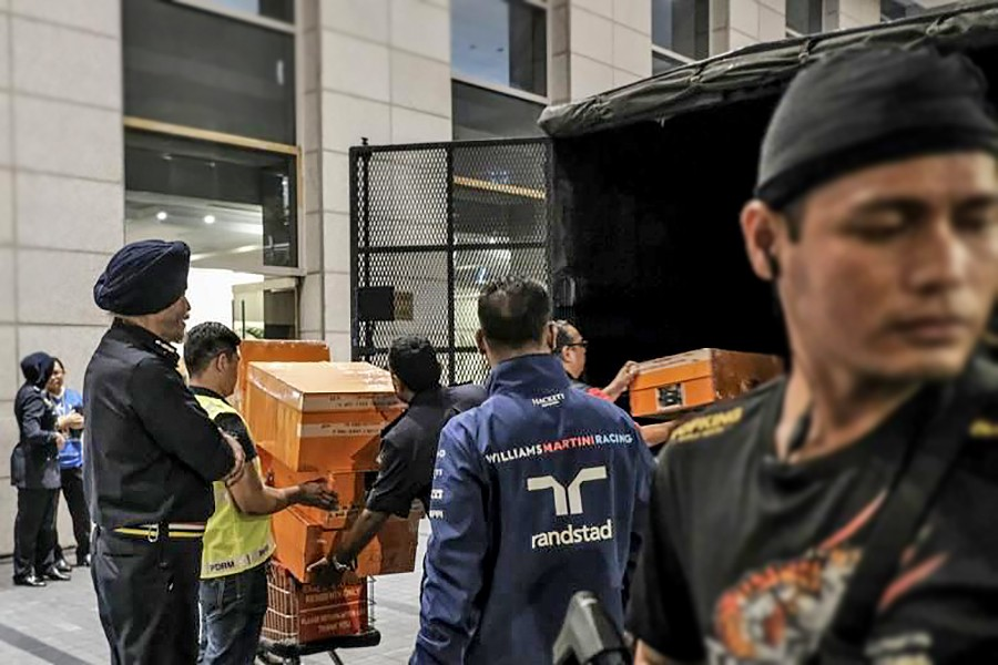 Malaysia: Luxury items seized from ex-Malaysian PM Najib's residences valued at over 10 billion baht   The Thaiger