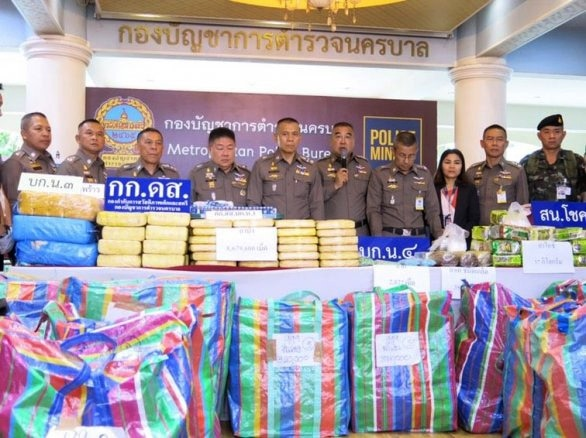 Bangkok teen arrested with 8 million pills and a whole lot more! | News by The Thaiger