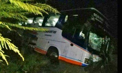Nakhon Ratchasima: Ten injured in Korat bus crash | The Thaiger