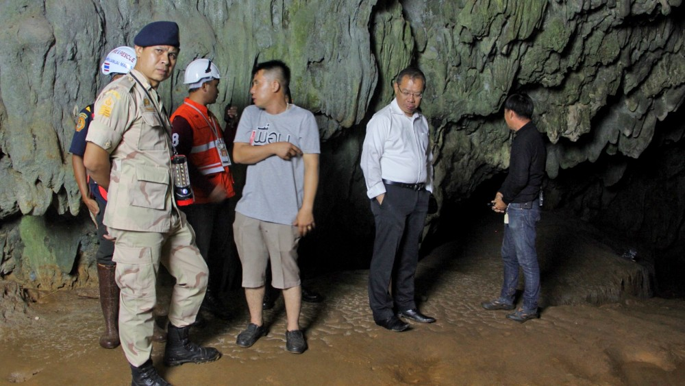 Search continues for 12 teenagers and their football coach   News by Thaiger