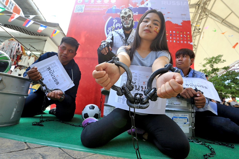 Youth warned to avoid World Cup gambling trap | The Thaiger