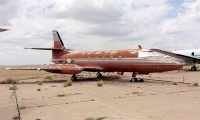 Elvis's plane up for auction. It's now or never. | The Thaiger